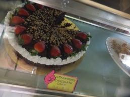 Raju's Hill Strawberry Farm - Strawberry Cafe strawberry chocolate cake