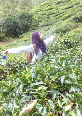 Me loving it at Sungei Palas BOH Tea Centre Plantation