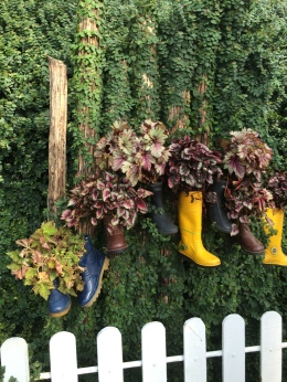 Cameron Lavender Garden - Some boots deco like Phua Chu Kang
