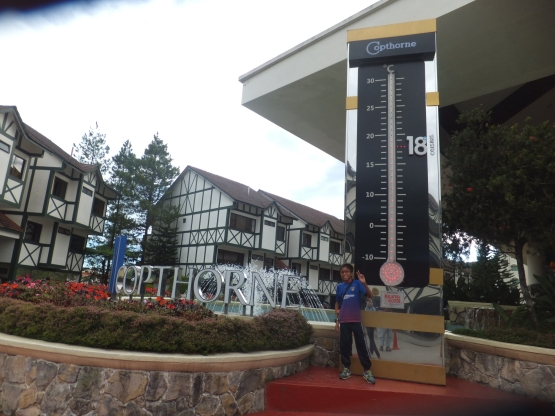 Copthorne Cameron Highlands Hotel Thermometer was awarded in 'The Malaysia Book of Records' as the tallest replica thermometer