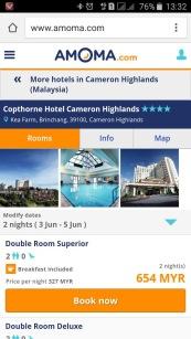 Copthorne Cameron Highlands Hotel Amomadotcom