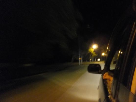 Exploring Labuan, Sabah at night