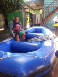 Sabah Padas White Water Rafting Centre Briefing Moment