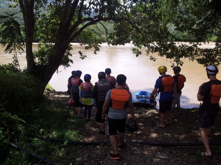 Sabah Padas White Water Rafting Starting Point