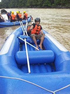 Padas Water Rafting Taking a break photo taking 4.11.2014 Rajib