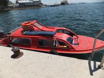 Labuan Ferry Terminal Red Speedboat
