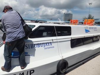 Labuan Ferry Terminal Sibubujaya Speedboat