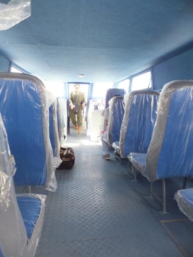 Labuan Ferry Terminal - Labuan to Sipitang Speedboat Interior