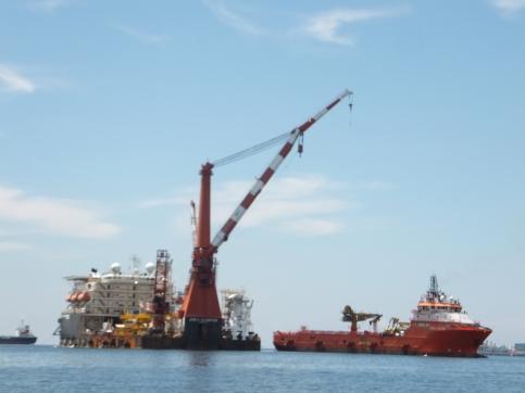 Labuan to Sipitang Speedboat - ships in Labuan water