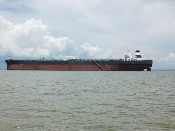 Labuan to Sipitang Speedboat - Tanker Ship