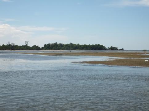 Labuan to Sipitang Speedboat - Sipitang Terminal Beach