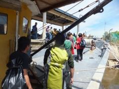 Labuan to Sipitang Speedboat - Arrived Sipitang Terminal