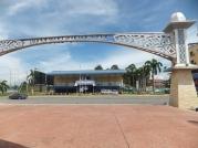 Esplanad Sipitang facing Multi-purpose Hall