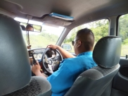 Sipitang to Tenom via Beaufort Route - Private Teksi Driver in Uniform