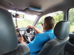 Sipitang to Tenom via Beaufort Route - Private Teksi Driver in Uniform