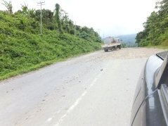 Sipitang to Tenom via Beaufort Route - Rough Road