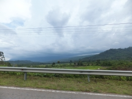 Sipitang to Tenom via Beaufort Route - Mountain View with Cloudy sky
