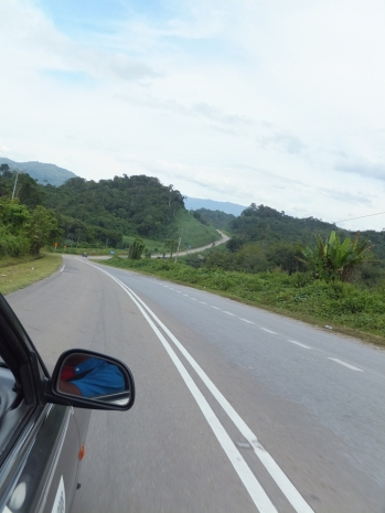 Sipitang to Tenom via Beaufort Route - 'S' Corner