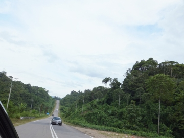 Sipitang to Tenom via Beaufort Route - Uphill