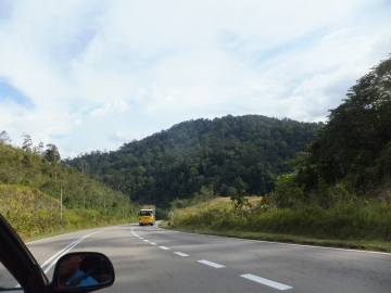 Sipitang to Tenom via Beaufort Route - Lorries uses this route frequently