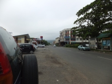 Tenom roadside outside of the railway