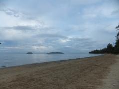 Pulau Sulug & Pulau Manukan view from Tg. Aru Beach, Sabah