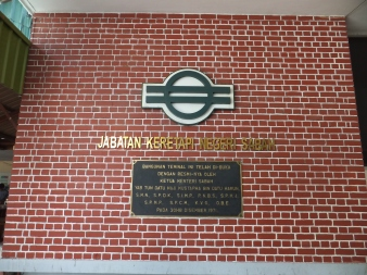 Sabah Day 7 Visit to Tg. Aru Railway aka North Borneo Railway Officially opened on 30th December 1971