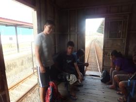 Sabah Padas Water Rafting in Departing Train