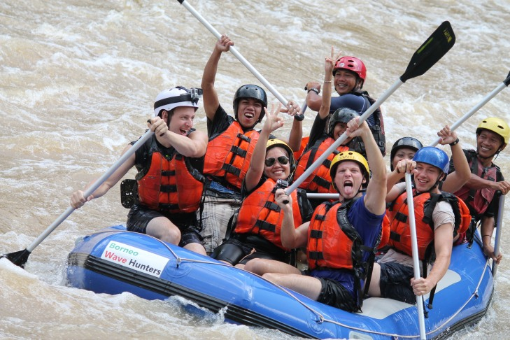 Sabah Padas Water Rafting with Borneo Wave Hunters 4.11.2014