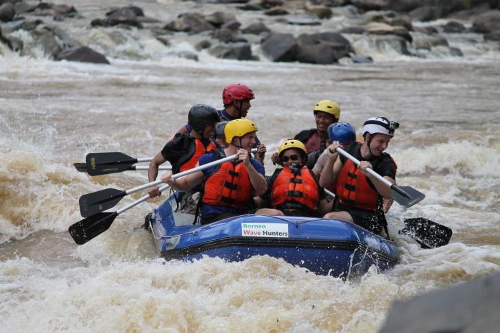 Padas White Water Rafting with Borneo Wave Hunters