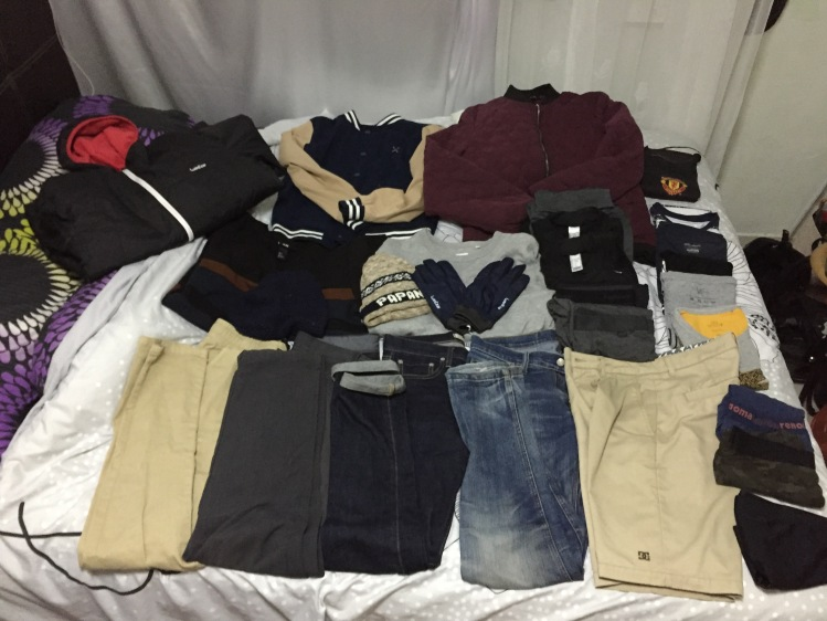 2 Weeks Winter Packing List Ideas for Guys - Overall List