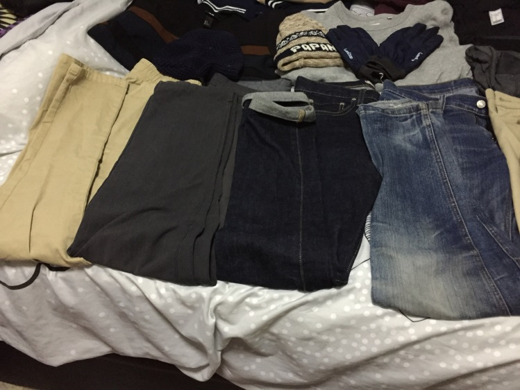 2 Weeks Winter Packing List Ideas for Guys - Jeans