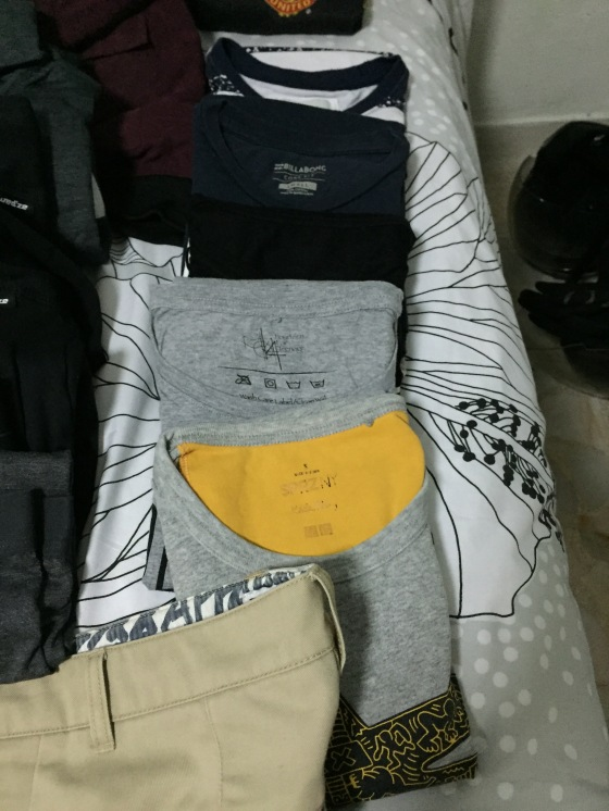2 Weeks Winter Packing List Ideas for Guys - Tshirts