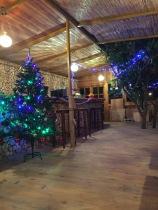 Seaview Faralya Butik Otel Restaurant Lovely Christmas Deco