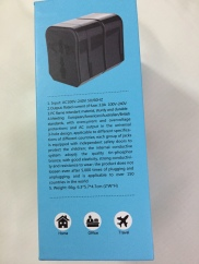 Hoco Universal Converter Charger AC1 Box Description of Product