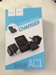 Hoco Universal Converter Charger AC1 Box