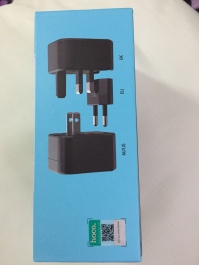 Hoco Universal Converter Charger AC1 Box Pictures of Product