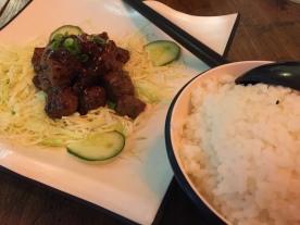 The Ramen Stall Teppanyaki Beef with Rice