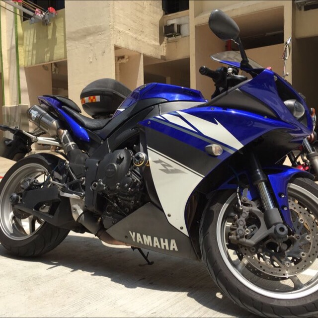 Wan Lia Schmolphin Yamaha R1 2009 Blue