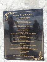 Double 6 Memorial Monument Names of Lives Taken