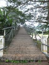 Tamparuli Suspension Bridge Entrance