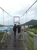 Tamparuli Suspension Bridge Crossing Over