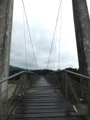 Tamparuli Suspension Bridge which is more than 60 yrs old