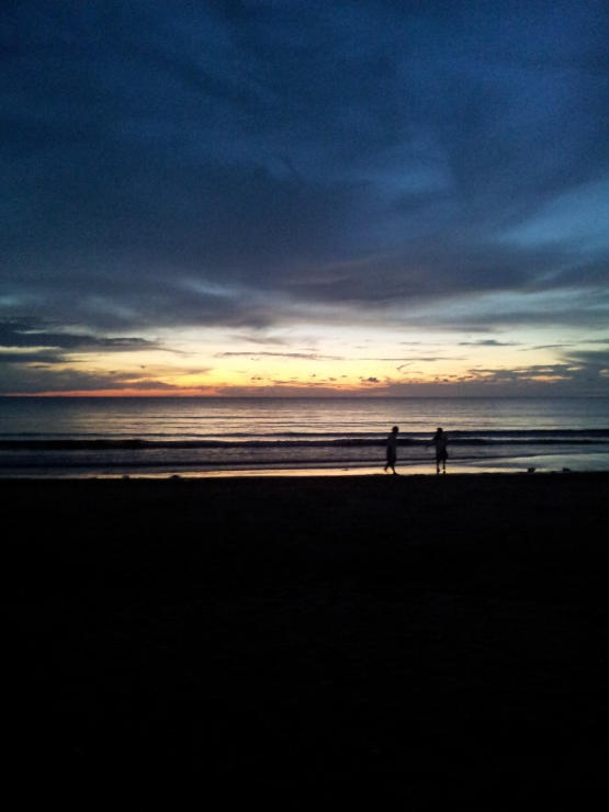 Sunset from Tanjung Aru Beach