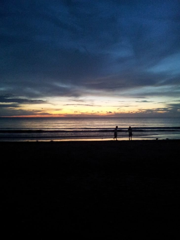 Sunset from Tanjung Aru Beach