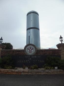 Yayasan Sabah Menara Tun Mustapha Entrance