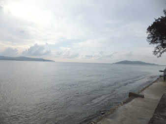 View of Pulau Sepangar from Menara Tun Mustapha