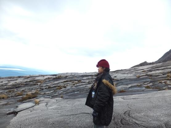 Mount Kinabalu emotional moment