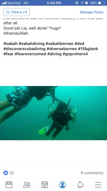 Discover Scuba Diving DSD in TARP Sabah with Diverse Borneo - Finally, I tried DSD