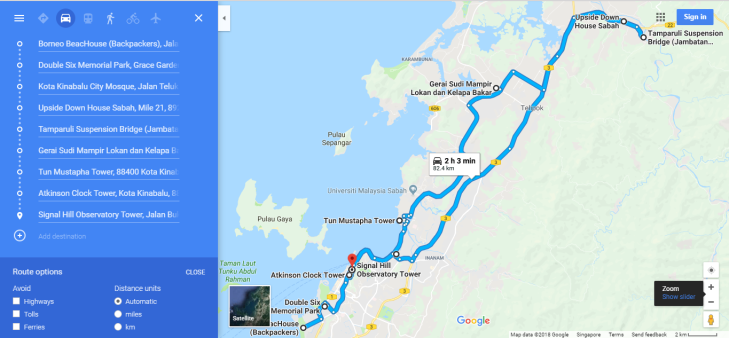 Places to Explore in KK City